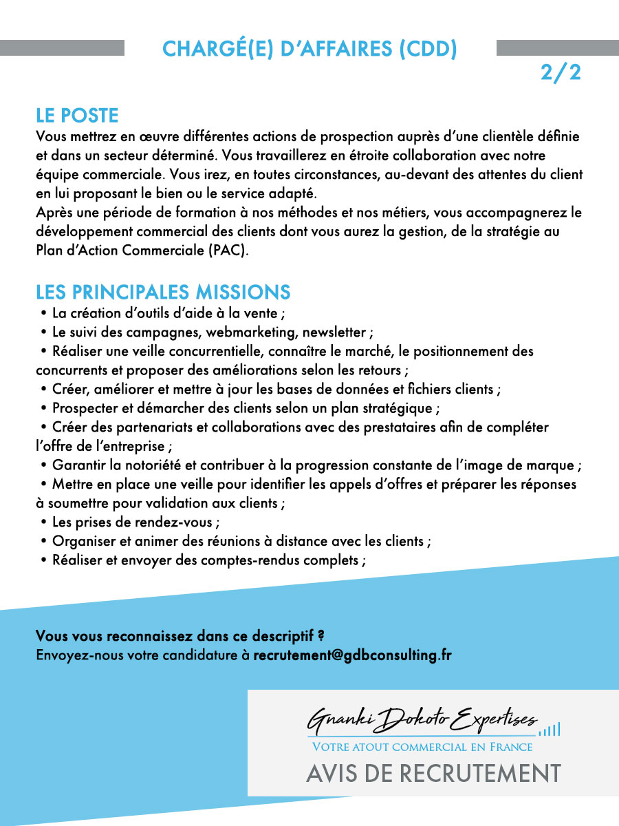 gdbconsulting f recrutement charge daffaires gde2